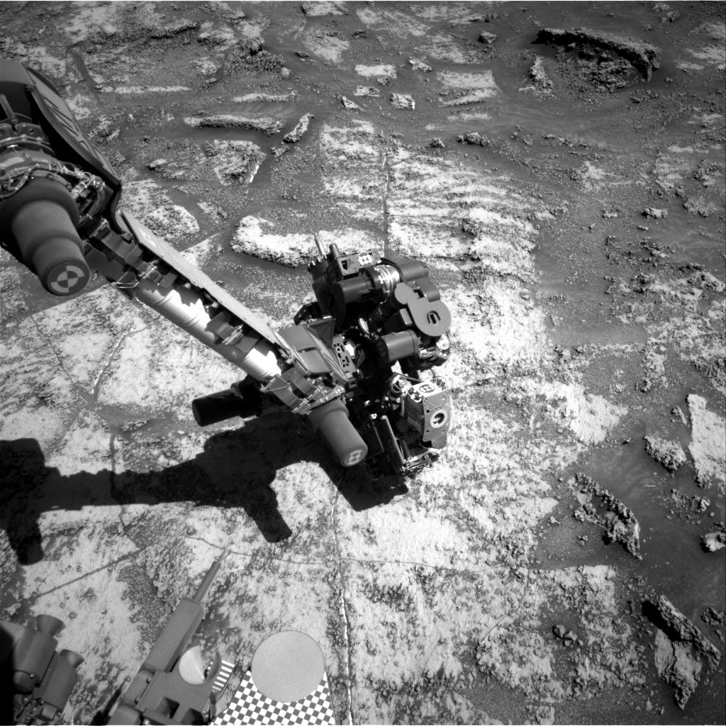Nasa's Mars rover Curiosity acquired this image using its Right Navigation Camera on Sol 3199, at drive 772, site number 90