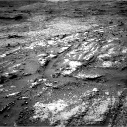 Nasa's Mars rover Curiosity acquired this image using its Right Navigation Camera on Sol 3199, at drive 778, site number 90