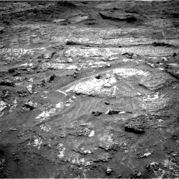 Nasa's Mars rover Curiosity acquired this image using its Right Navigation Camera on Sol 3199, at drive 802, site number 90