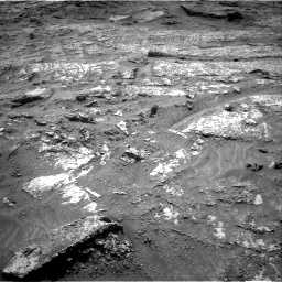 Nasa's Mars rover Curiosity acquired this image using its Right Navigation Camera on Sol 3199, at drive 808, site number 90