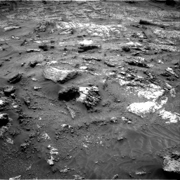 Nasa's Mars rover Curiosity acquired this image using its Right Navigation Camera on Sol 3199, at drive 820, site number 90