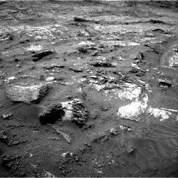 Nasa's Mars rover Curiosity acquired this image using its Right Navigation Camera on Sol 3199, at drive 844, site number 90