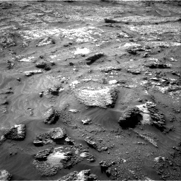 Nasa's Mars rover Curiosity acquired this image using its Right Navigation Camera on Sol 3199, at drive 850, site number 90
