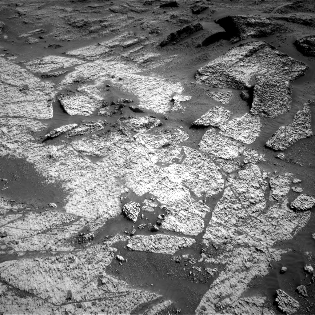 Nasa's Mars rover Curiosity acquired this image using its Right Navigation Camera on Sol 3199, at drive 856, site number 90
