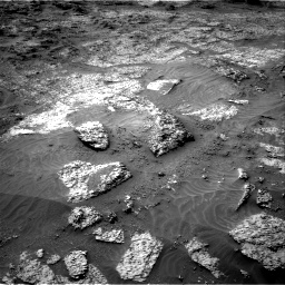 Nasa's Mars rover Curiosity acquired this image using its Right Navigation Camera on Sol 3199, at drive 868, site number 90