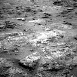 Nasa's Mars rover Curiosity acquired this image using its Left Navigation Camera on Sol 3202, at drive 982, site number 90