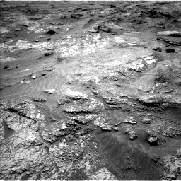 Nasa's Mars rover Curiosity acquired this image using its Left Navigation Camera on Sol 3202, at drive 1006, site number 90
