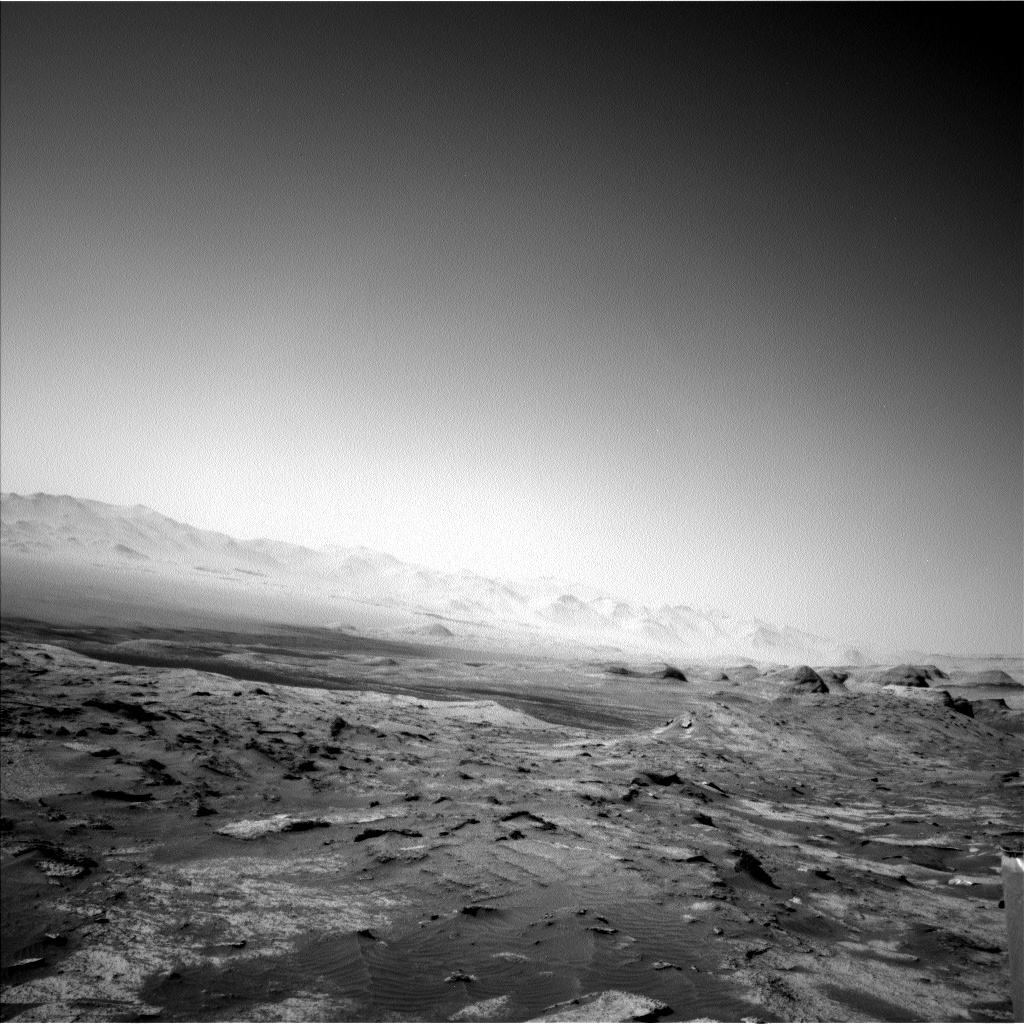 Nasa's Mars rover Curiosity acquired this image using its Left Navigation Camera on Sol 3202, at drive 1102, site number 90