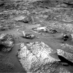 Nasa's Mars rover Curiosity acquired this image using its Right Navigation Camera on Sol 3202, at drive 892, site number 90
