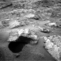 Nasa's Mars rover Curiosity acquired this image using its Right Navigation Camera on Sol 3202, at drive 898, site number 90