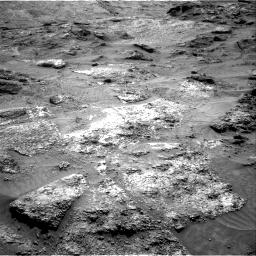 Nasa's Mars rover Curiosity acquired this image using its Right Navigation Camera on Sol 3202, at drive 982, site number 90
