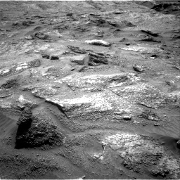 Nasa's Mars rover Curiosity acquired this image using its Right Navigation Camera on Sol 3202, at drive 994, site number 90