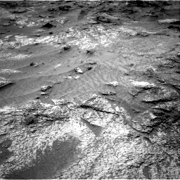 Nasa's Mars rover Curiosity acquired this image using its Right Navigation Camera on Sol 3202, at drive 1024, site number 90