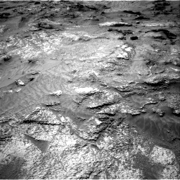 Nasa's Mars rover Curiosity acquired this image using its Right Navigation Camera on Sol 3202, at drive 1030, site number 90