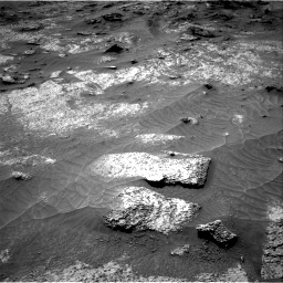 Nasa's Mars rover Curiosity acquired this image using its Right Navigation Camera on Sol 3202, at drive 1048, site number 90