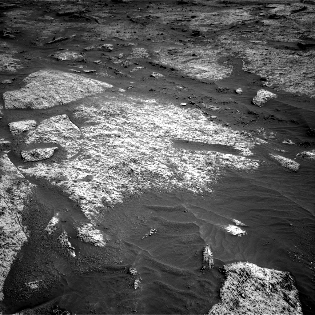Nasa's Mars rover Curiosity acquired this image using its Right Navigation Camera on Sol 3202, at drive 1060, site number 90