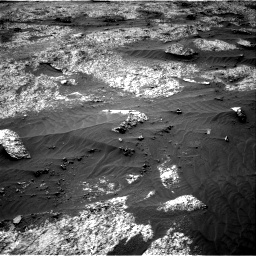 Nasa's Mars rover Curiosity acquired this image using its Right Navigation Camera on Sol 3202, at drive 1090, site number 90