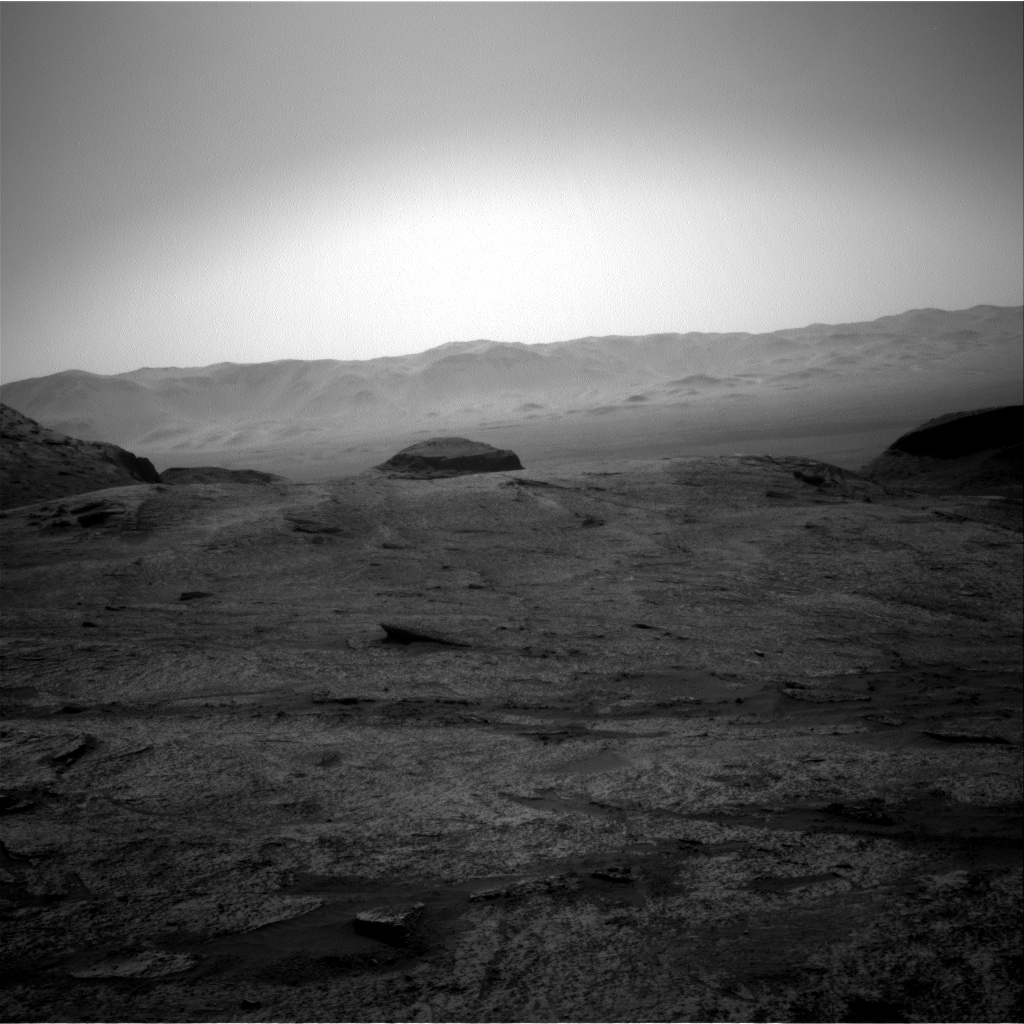 Nasa's Mars rover Curiosity acquired this image using its Right Navigation Camera on Sol 3202, at drive 1102, site number 90