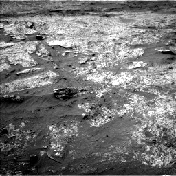 Nasa's Mars rover Curiosity acquired this image using its Left Navigation Camera on Sol 3203, at drive 1132, site number 90