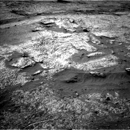 Nasa's Mars rover Curiosity acquired this image using its Left Navigation Camera on Sol 3203, at drive 1144, site number 90