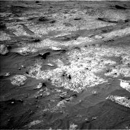 Nasa's Mars rover Curiosity acquired this image using its Left Navigation Camera on Sol 3203, at drive 1174, site number 90