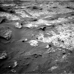 Nasa's Mars rover Curiosity acquired this image using its Left Navigation Camera on Sol 3203, at drive 1180, site number 90