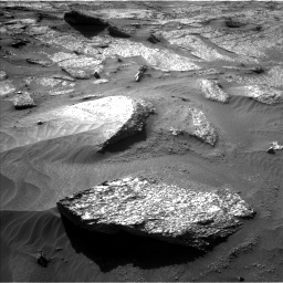 Nasa's Mars rover Curiosity acquired this image using its Left Navigation Camera on Sol 3203, at drive 1192, site number 90