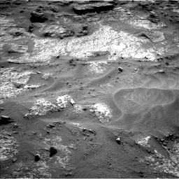Nasa's Mars rover Curiosity acquired this image using its Left Navigation Camera on Sol 3203, at drive 1216, site number 90