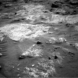 Nasa's Mars rover Curiosity acquired this image using its Left Navigation Camera on Sol 3203, at drive 1228, site number 90