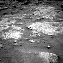 Nasa's Mars rover Curiosity acquired this image using its Left Navigation Camera on Sol 3203, at drive 1240, site number 90