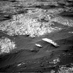 Nasa's Mars rover Curiosity acquired this image using its Right Navigation Camera on Sol 3203, at drive 1108, site number 90