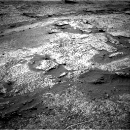 Nasa's Mars rover Curiosity acquired this image using its Right Navigation Camera on Sol 3203, at drive 1150, site number 90