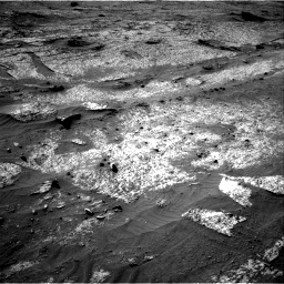 Nasa's Mars rover Curiosity acquired this image using its Right Navigation Camera on Sol 3203, at drive 1174, site number 90