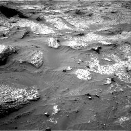 Nasa's Mars rover Curiosity acquired this image using its Right Navigation Camera on Sol 3203, at drive 1186, site number 90