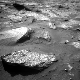 Nasa's Mars rover Curiosity acquired this image using its Right Navigation Camera on Sol 3203, at drive 1192, site number 90