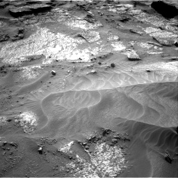 Nasa's Mars rover Curiosity acquired this image using its Right Navigation Camera on Sol 3203, at drive 1210, site number 90