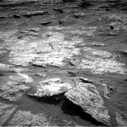 Nasa's Mars rover Curiosity acquired this image using its Right Navigation Camera on Sol 3203, at drive 1258, site number 90