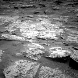 Nasa's Mars rover Curiosity acquired this image using its Right Navigation Camera on Sol 3203, at drive 1264, site number 90