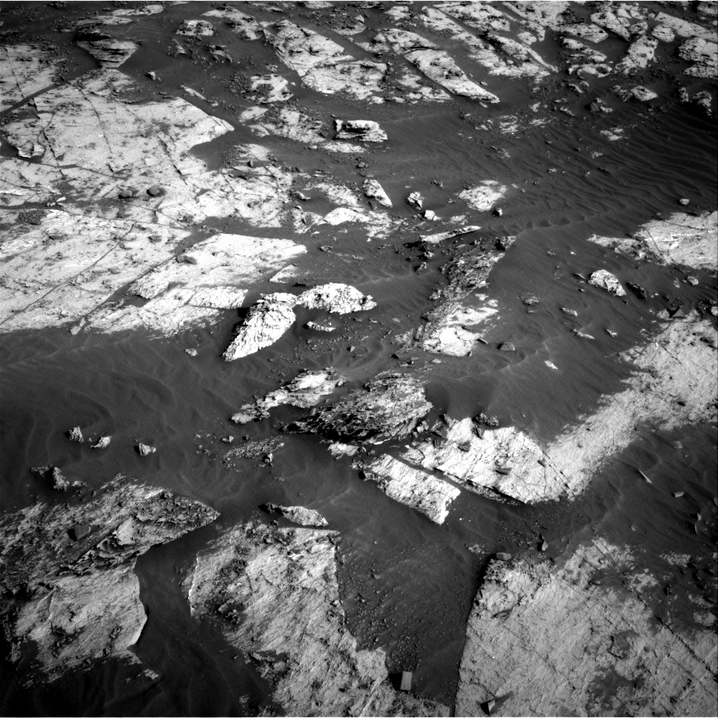 Nasa's Mars rover Curiosity acquired this image using its Right Navigation Camera on Sol 3203, at drive 1306, site number 90
