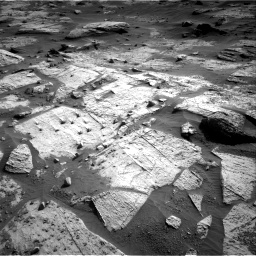 Nasa's Mars rover Curiosity acquired this image using its Right Navigation Camera on Sol 3203, at drive 1312, site number 90