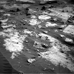 Nasa's Mars rover Curiosity acquired this image using its Right Navigation Camera on Sol 3203, at drive 1336, site number 90