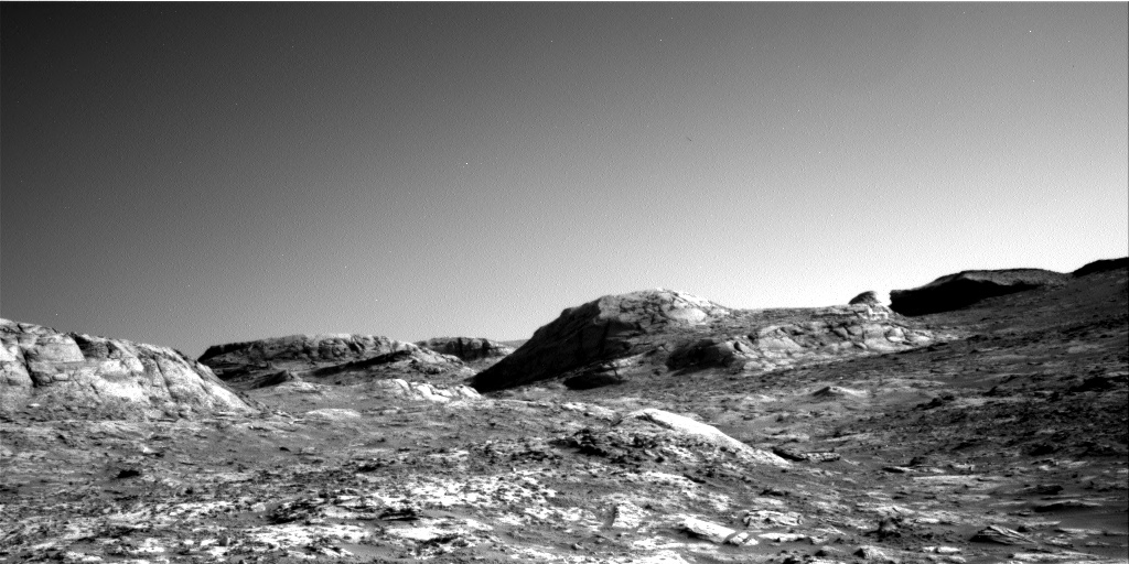 Nasa's Mars rover Curiosity acquired this image using its Right Navigation Camera on Sol 3203, at drive 1348, site number 90