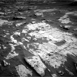 Nasa's Mars rover Curiosity acquired this image using its Left Navigation Camera on Sol 3204, at drive 1426, site number 90