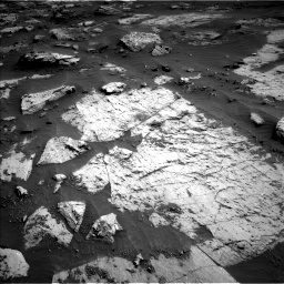 Nasa's Mars rover Curiosity acquired this image using its Left Navigation Camera on Sol 3204, at drive 1438, site number 90