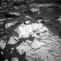 Nasa's Mars rover Curiosity acquired this image using its Left Navigation Camera on Sol 3204, at drive 1444, site number 90