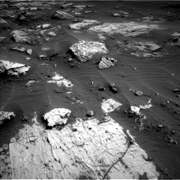 Nasa's Mars rover Curiosity acquired this image using its Left Navigation Camera on Sol 3204, at drive 1462, site number 90