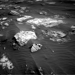 Nasa's Mars rover Curiosity acquired this image using its Left Navigation Camera on Sol 3204, at drive 1474, site number 90