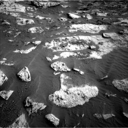 Nasa's Mars rover Curiosity acquired this image using its Left Navigation Camera on Sol 3204, at drive 1588, site number 90