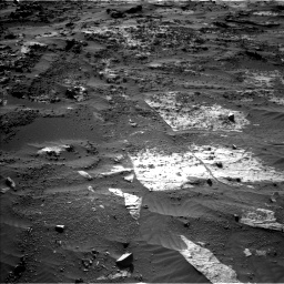 Nasa's Mars rover Curiosity acquired this image using its Left Navigation Camera on Sol 3204, at drive 1660, site number 90