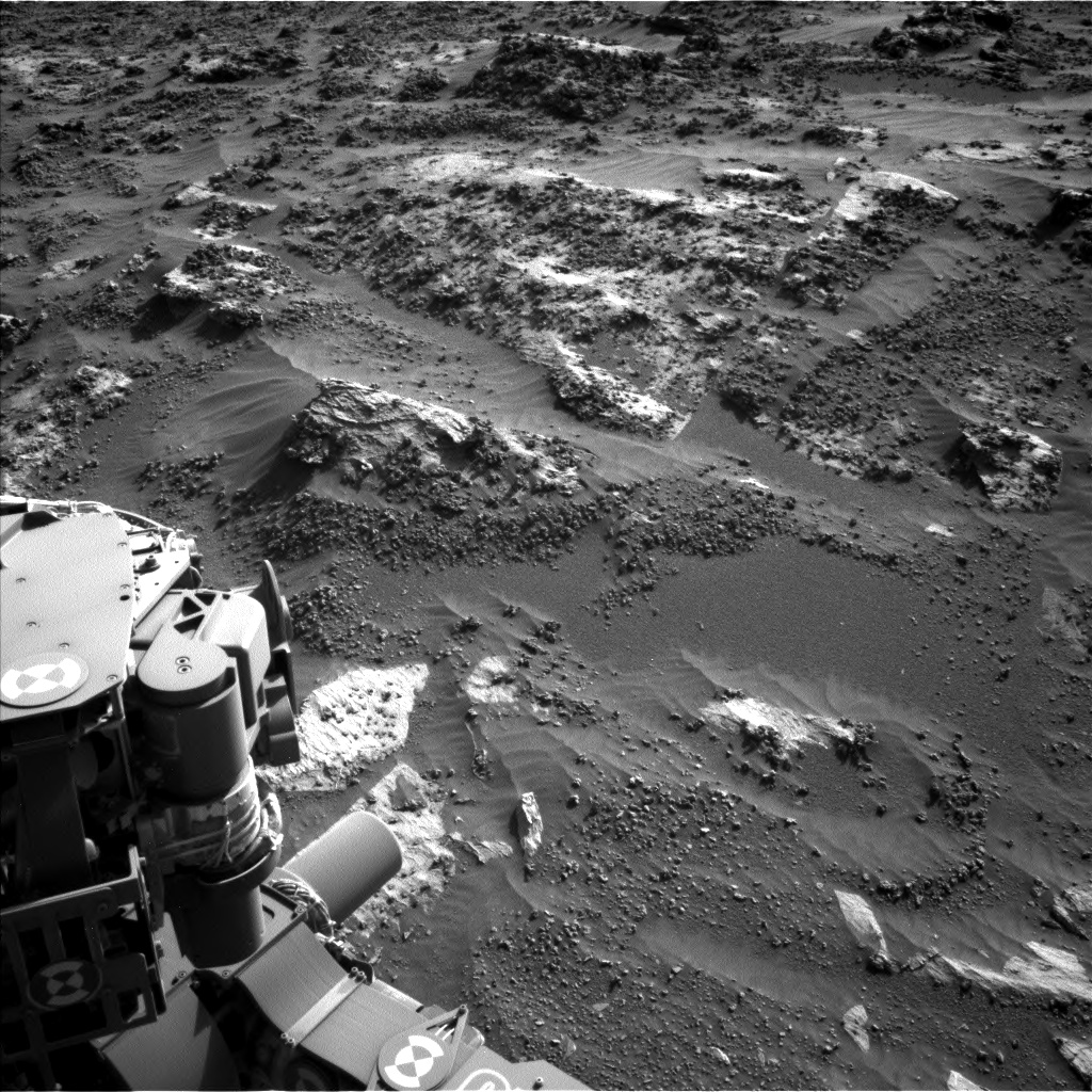 Nasa's Mars rover Curiosity acquired this image using its Left Navigation Camera on Sol 3204, at drive 1672, site number 90